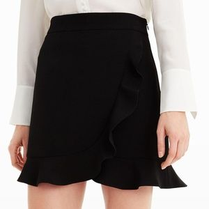 Club Monaco Black Suzillie Skirt